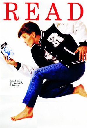 Nothing says the 80s like Bowie in a letterman jacket looking like Emilio Estevez from The Breakfast Club.