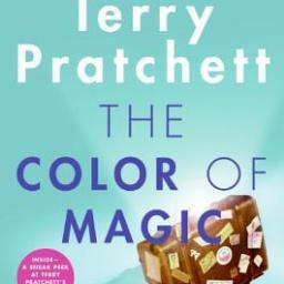 From the BiblioFile: The Color of Magic (Discworld #1) by Terry Pratchett